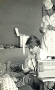 Врач кардиологической бригады  Т.И. Вешнева