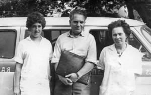 Главный врач ССМП Н.С. Грабовский, 1971г.