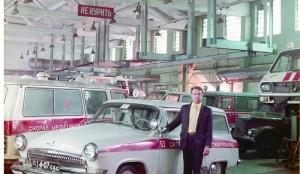 Кавалер ордена Трудового Красного Знамени Виктор Федорович Козловский– проработал водителем автомобиля СМП более 40 лет.