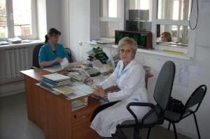 Старший врач смены Е.С. Еремина